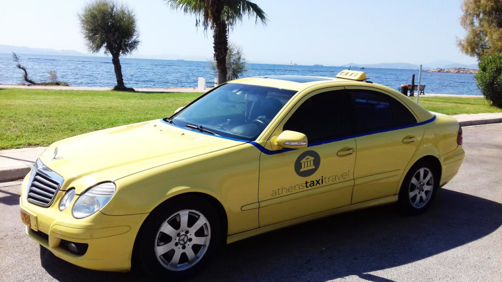 athens taxi travel 1