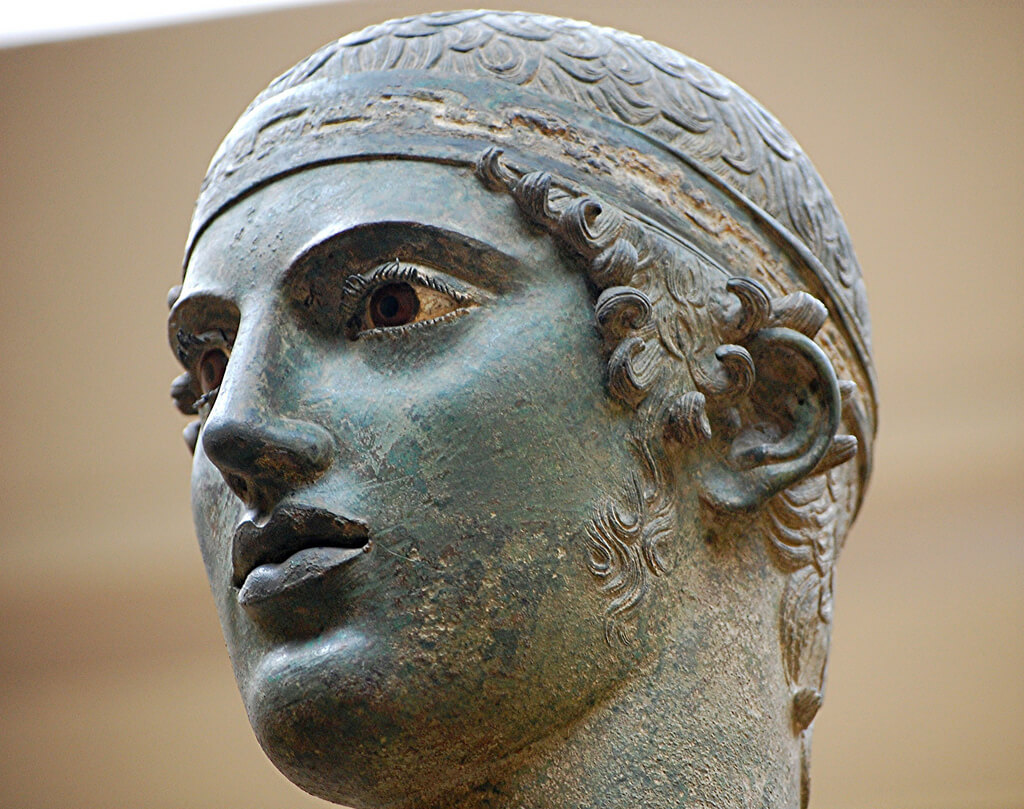 charioteer-face