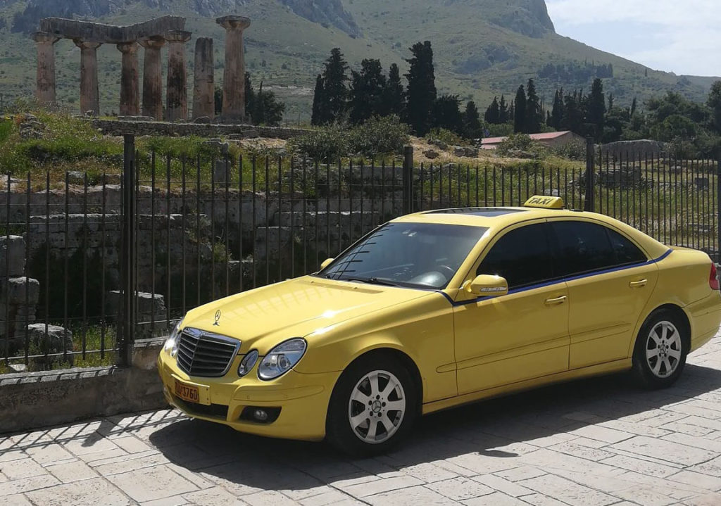 athens taxi travel
